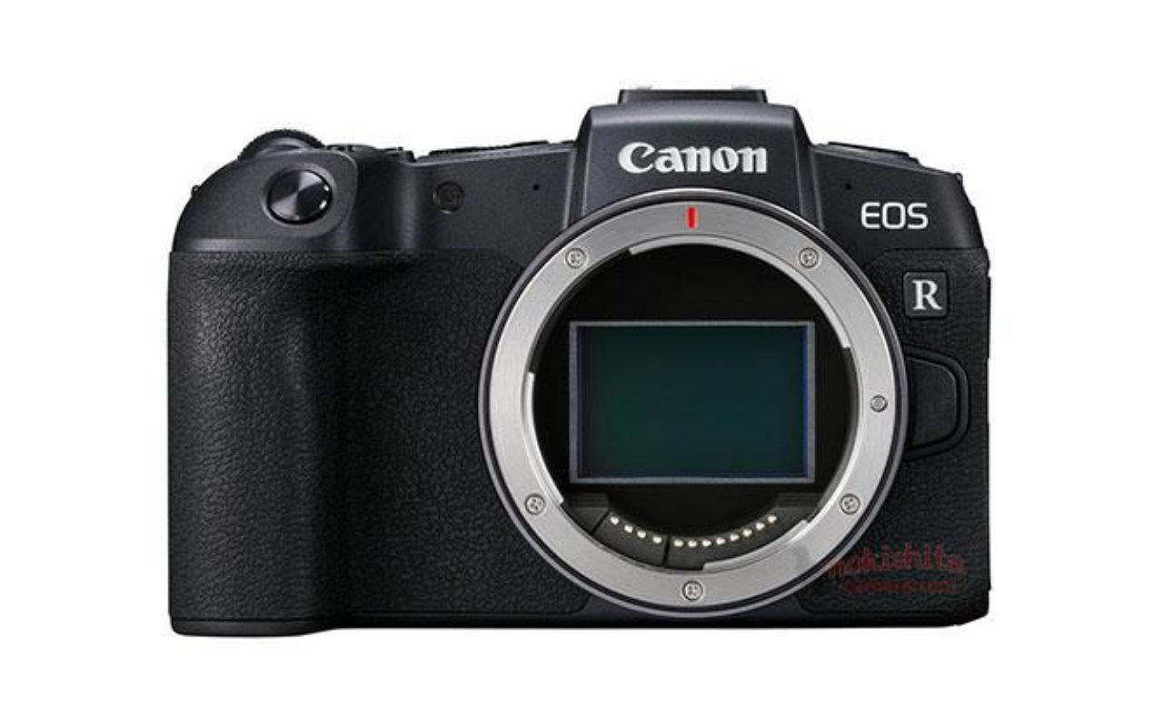 Especificações da câmera full-frame da Canon EOS RP, fotos vazam antes do lançamento