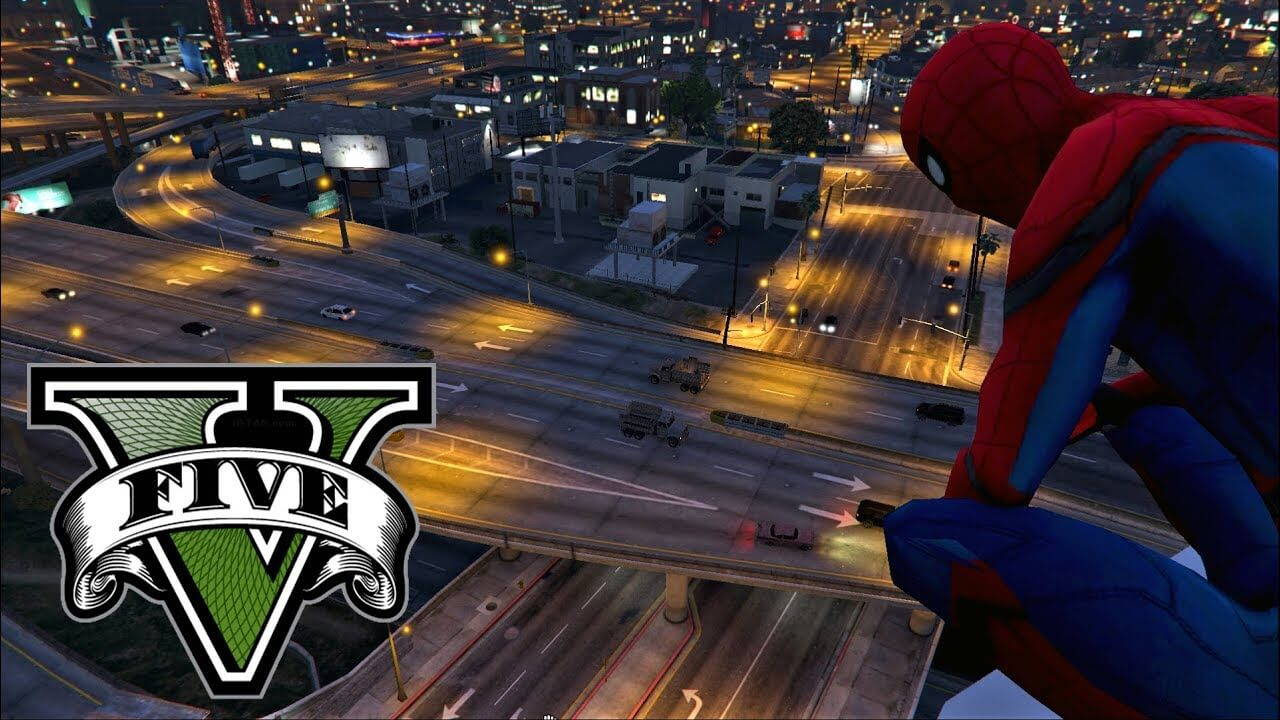 PS4 Marvel Spider-Man mod for Grand Theft Auto 5 is now available for free download