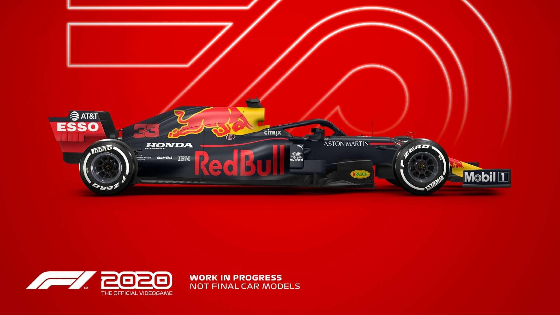 F1 2020 está chegando ao PC em 10 de julho