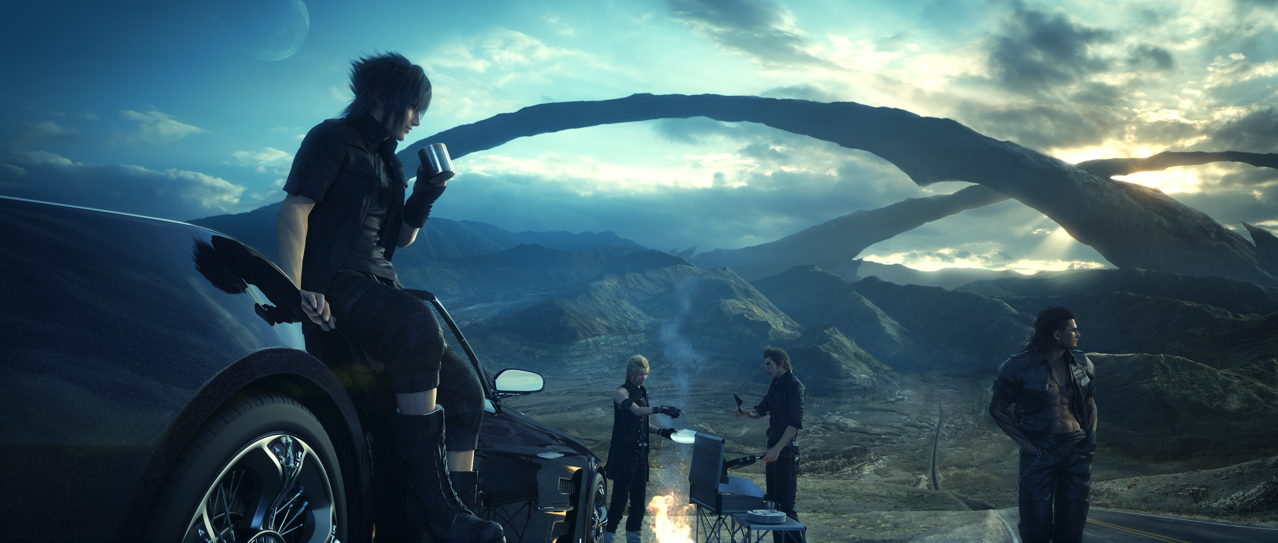 Final Fantasy XV is the first game that officially supports Deep Learning Super Sampling (DLSS)