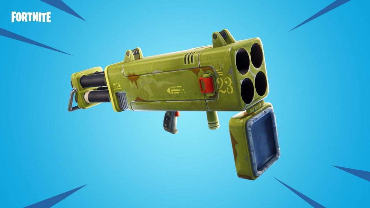 Fortnite irá saltar Quad Launcher e vários outros itens