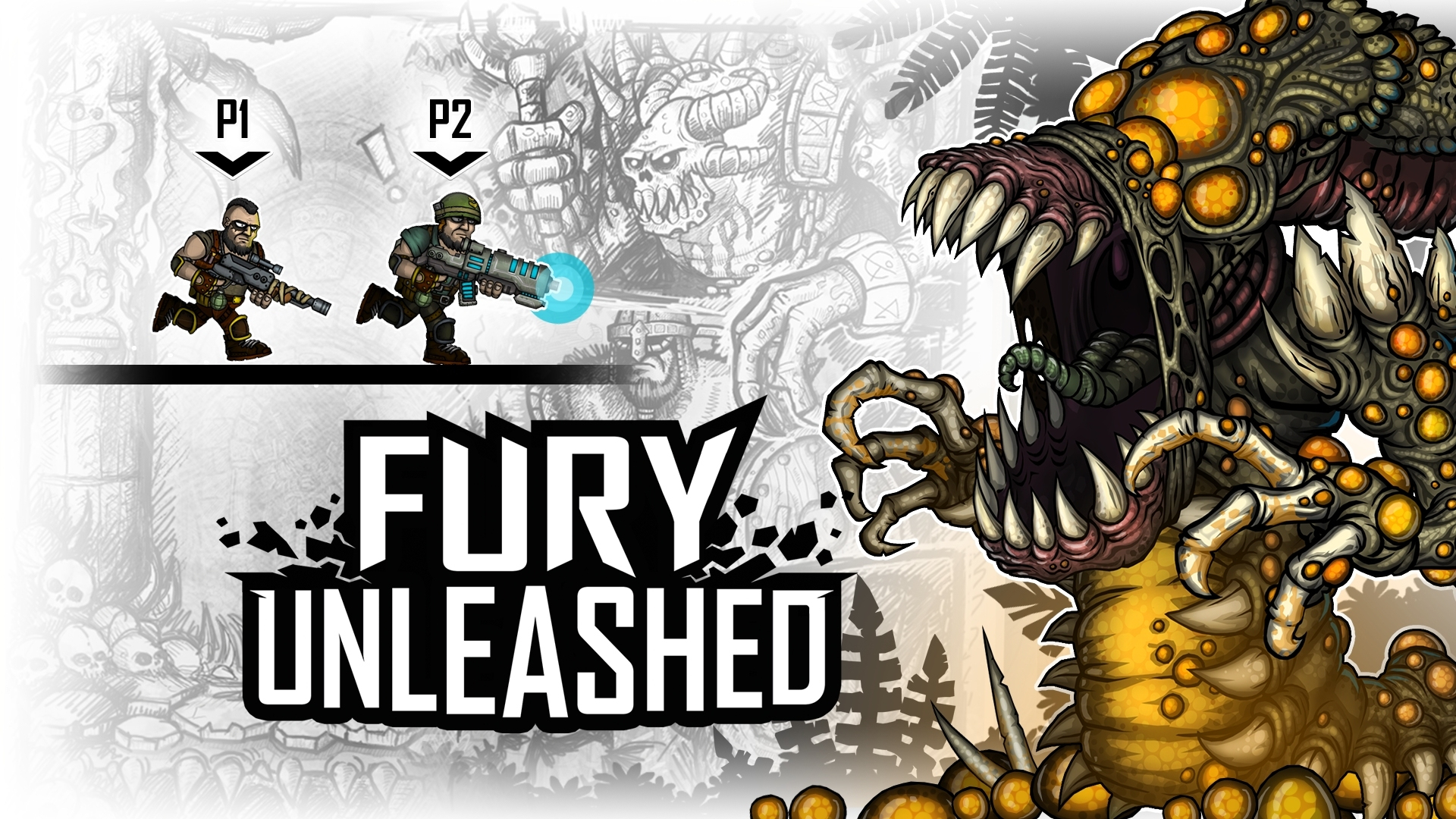 Fury Unleashed, a pistola Run 'n' Combo-Driven, agora disponível para Xbox One