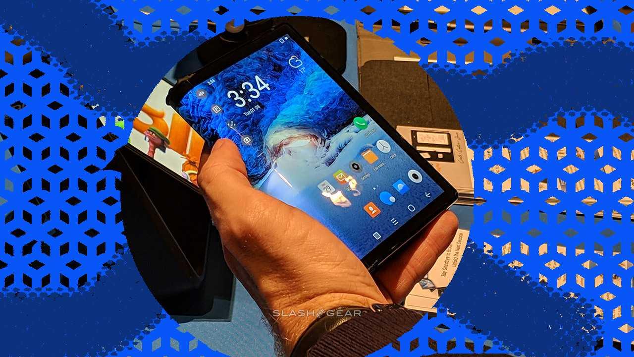 Galaxy F: Você ainda não quer um telefone dobrável