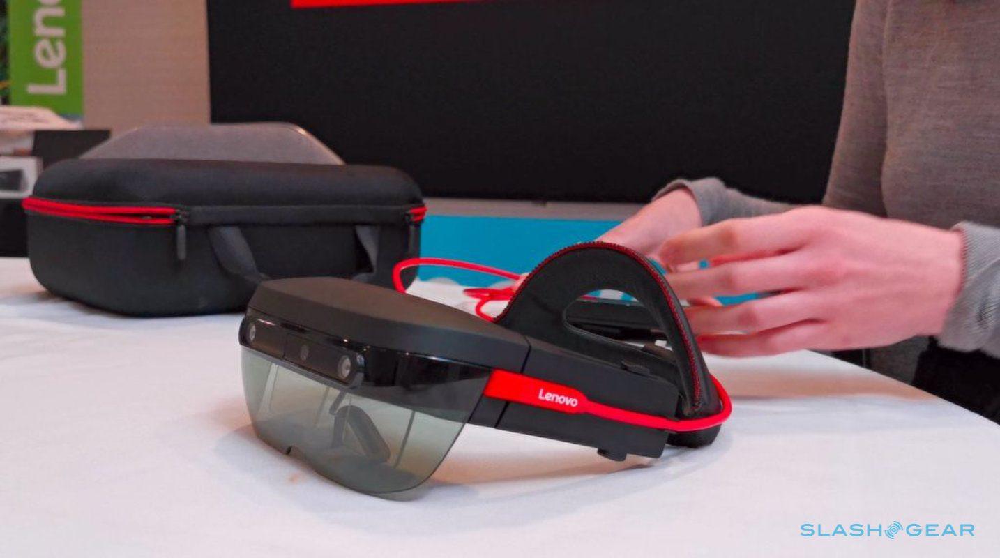 Headset Lenovo ThinkReality A6 inaugura nova plataforma AR corporativa