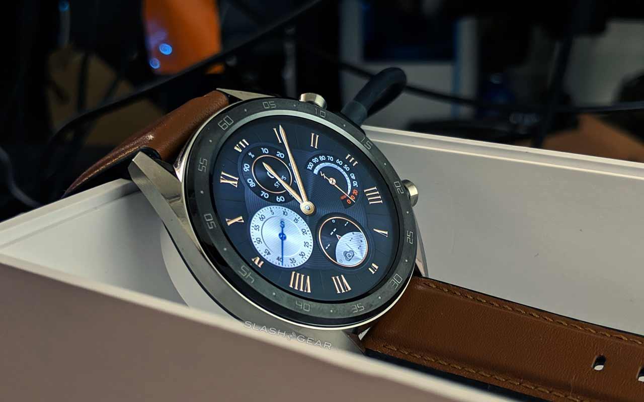 Huawei Watch GT chega aos EUA por US $ 200 com o lançamento da bateria
