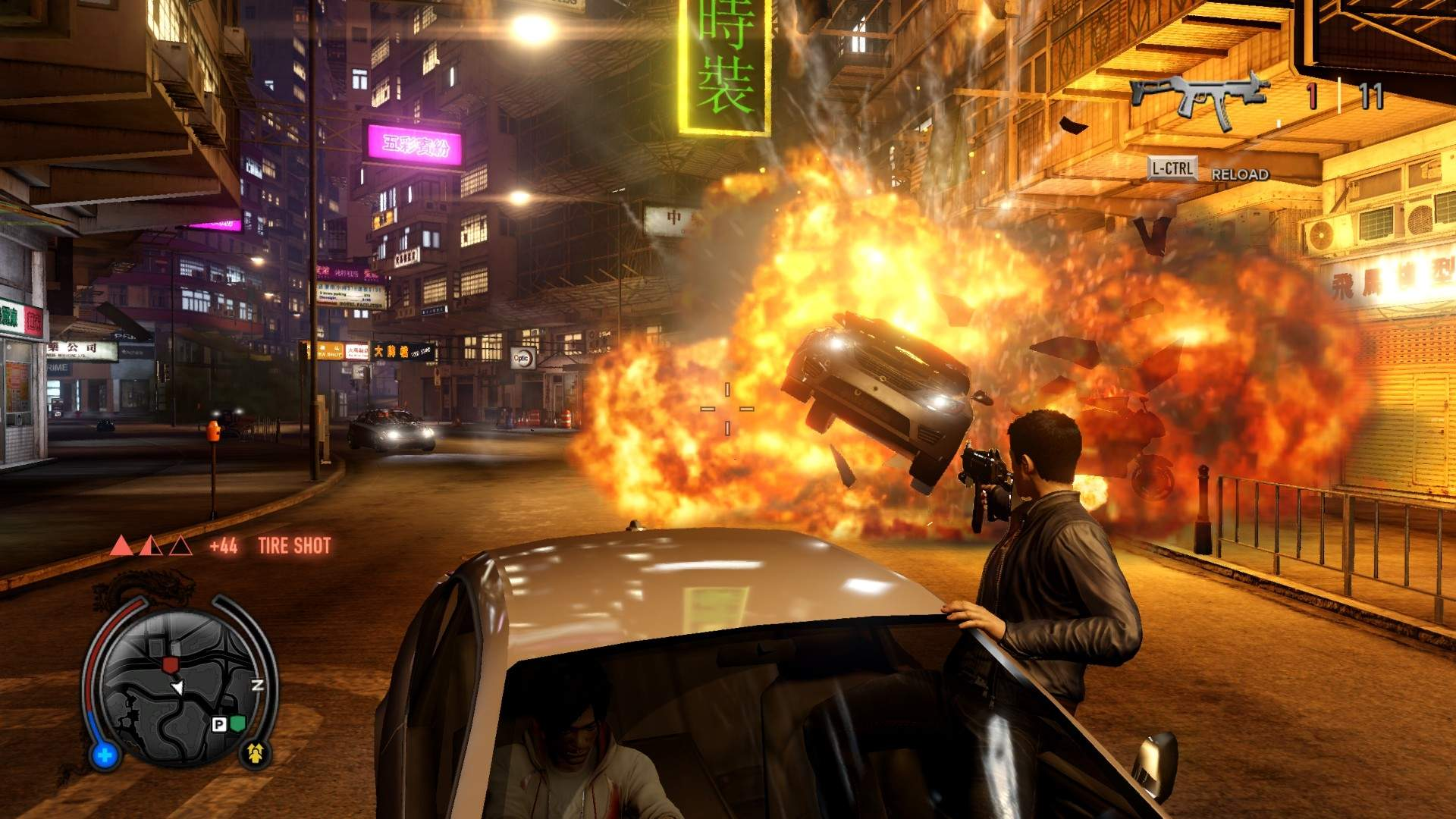 Gameplay footage from the cancelled version of True Crime: Hong Kong/Sleeping Dogs