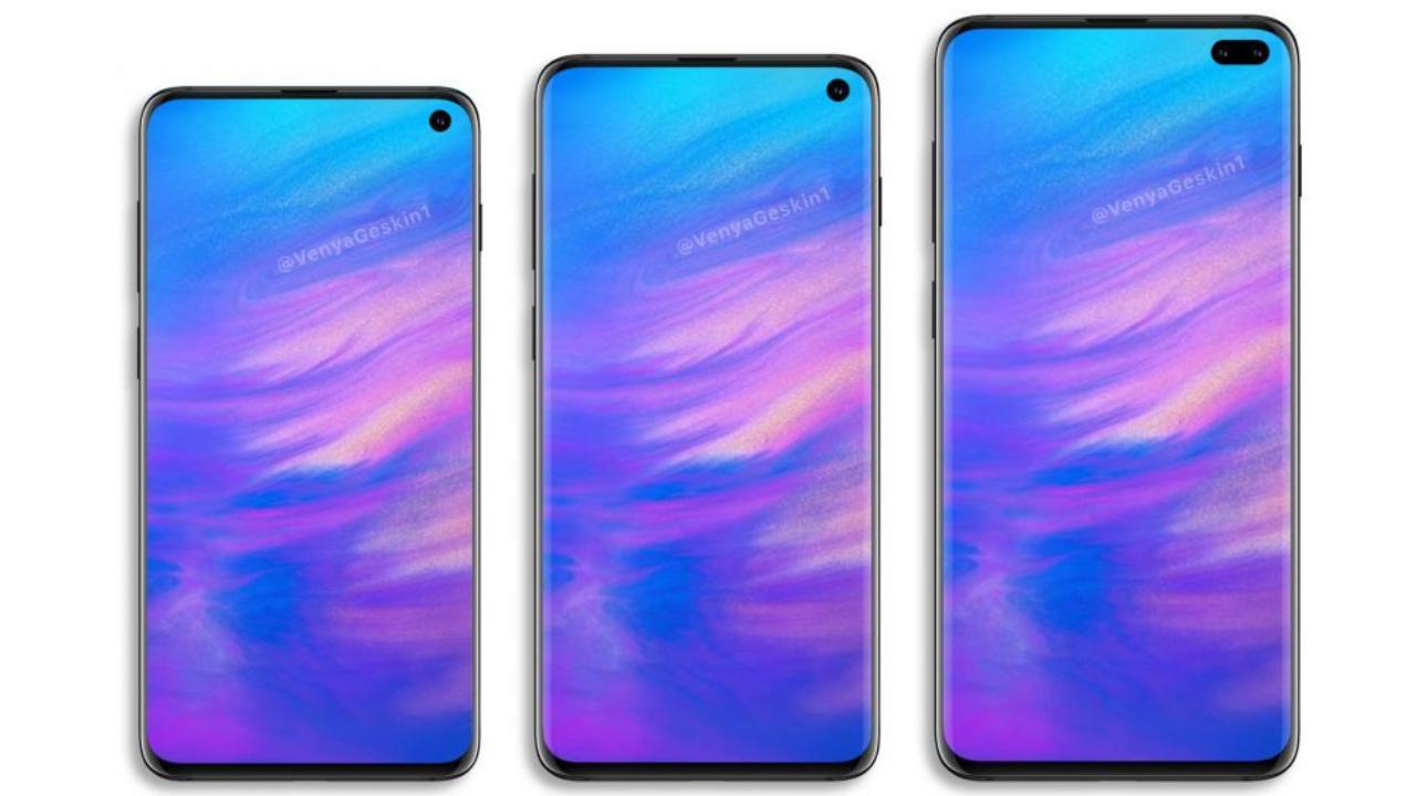 Impressão digital do Galaxy S10 em exibição confirmada pelo Samsung Pay