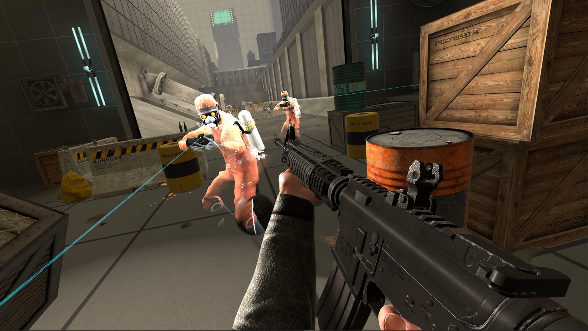 Jogo experimental de ação e aventura física VR, Boneworks, lançado em 10 de dezembro