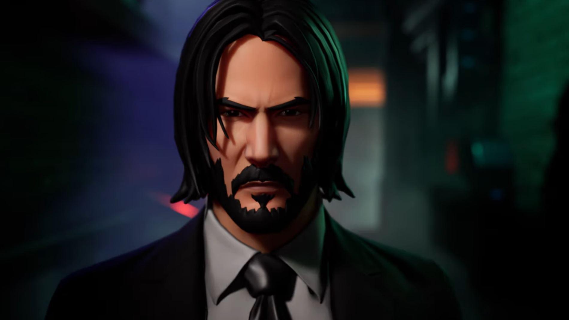 John Wick chega ao Fortnite em novo evento de crossover