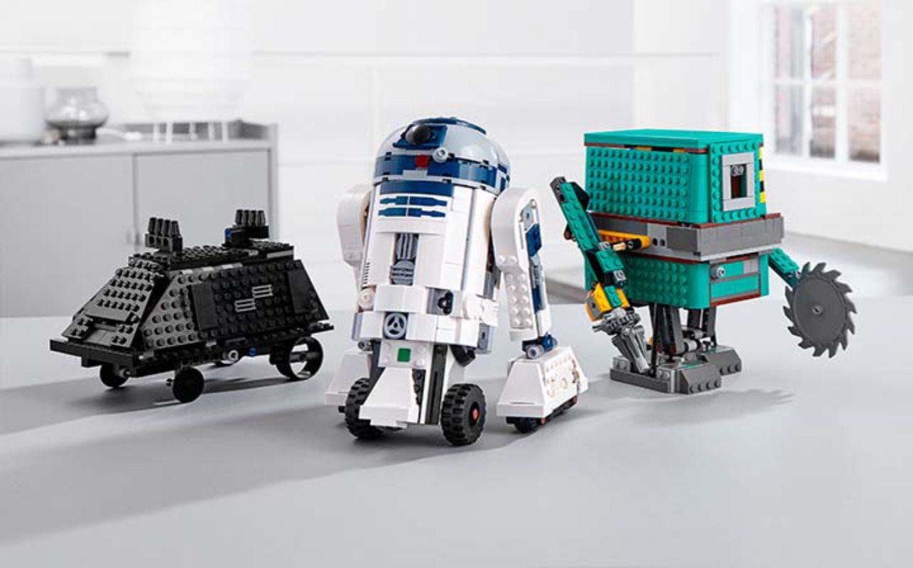 Kit de codificação LEGO Star Wars Boost Droid Commander chega neste outono