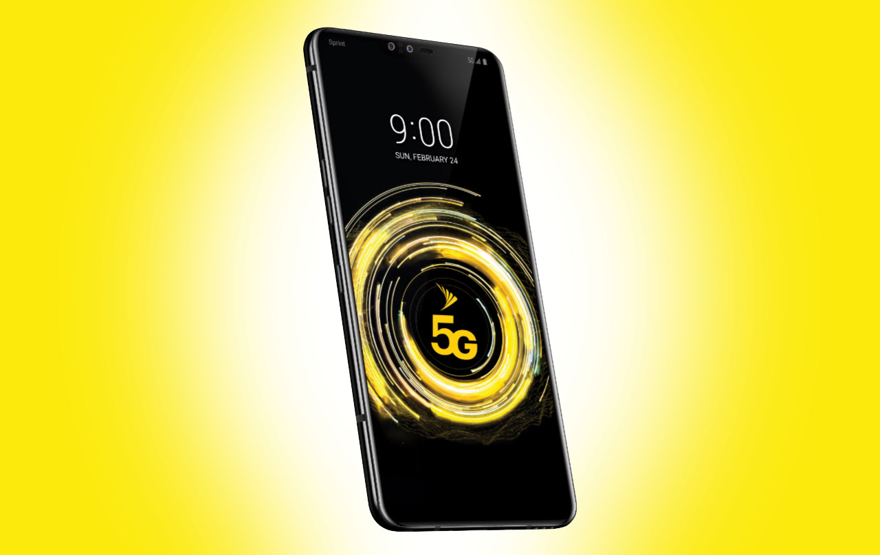 LG V50 ThinQ 5G goes high-speed on Sprint first