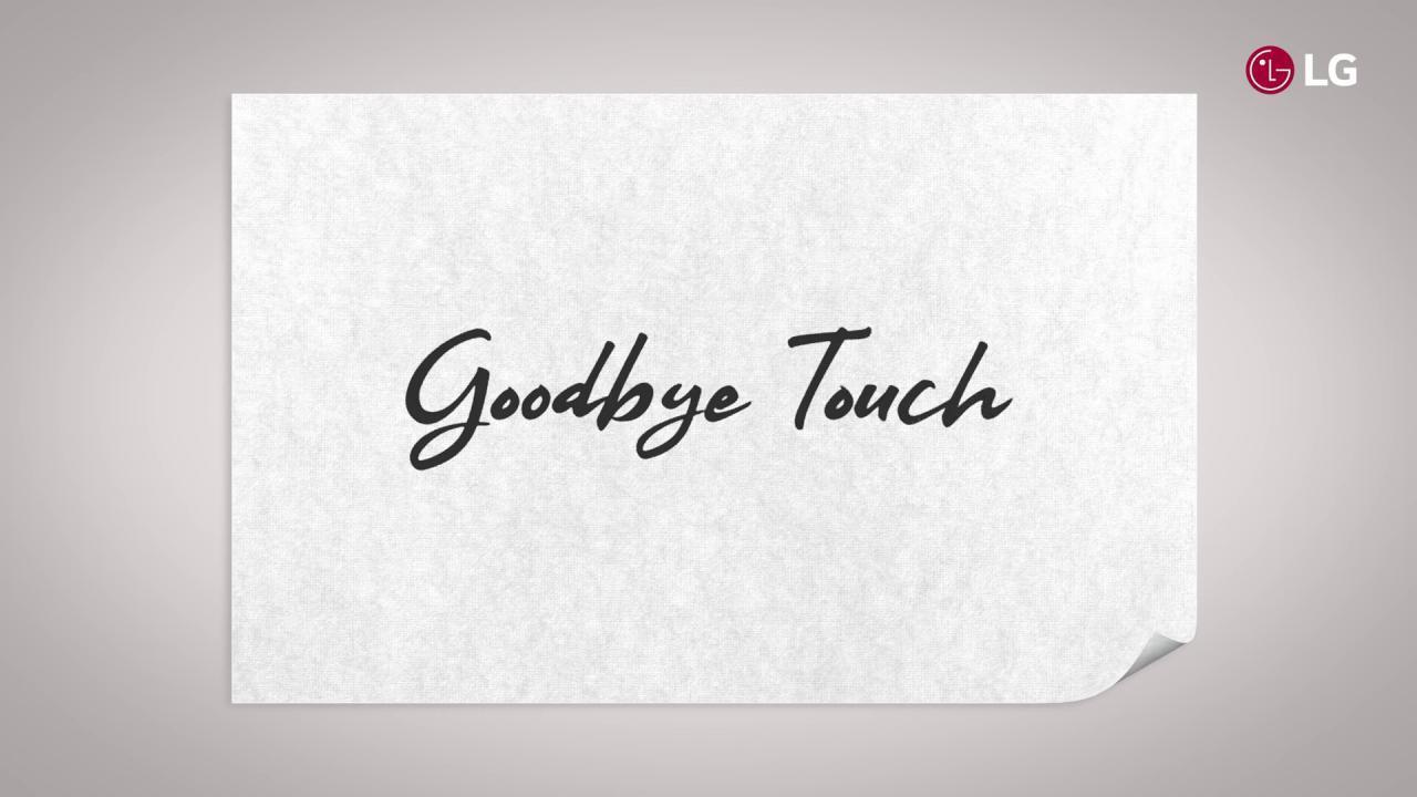 LG acena adeus ao toque, olá ao 5G no MWC 2019