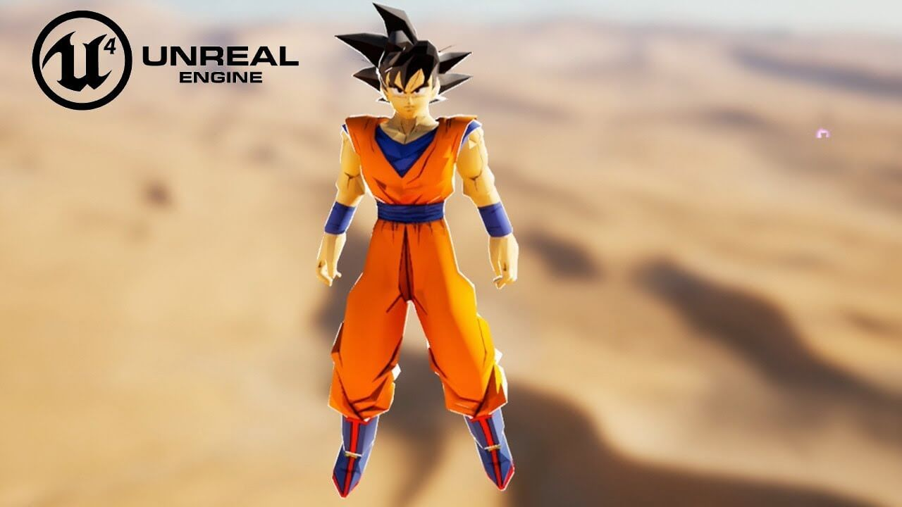 New Dragon Ball Unreal, DBZ game in Unreal Engine 4, public free demo is now available for download