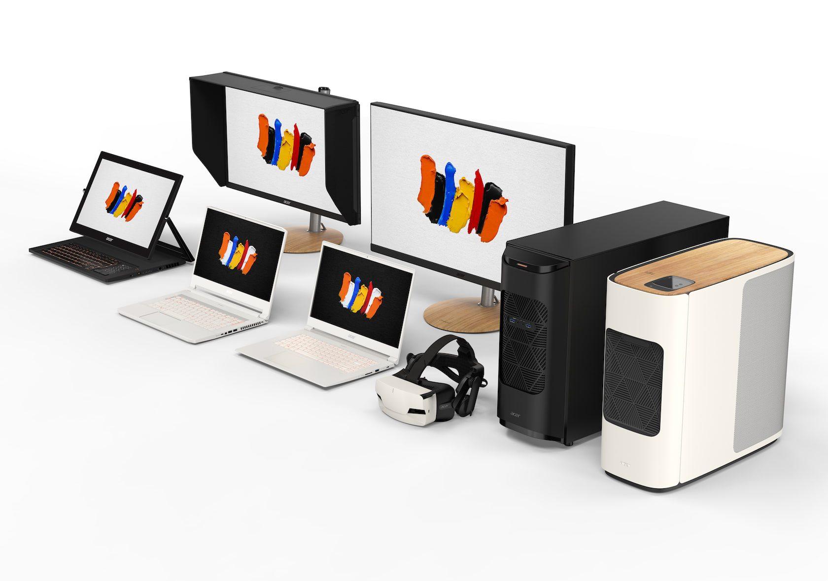Laptops e desktops Acer ConceptD provocam desiludidos profissionais da Apple