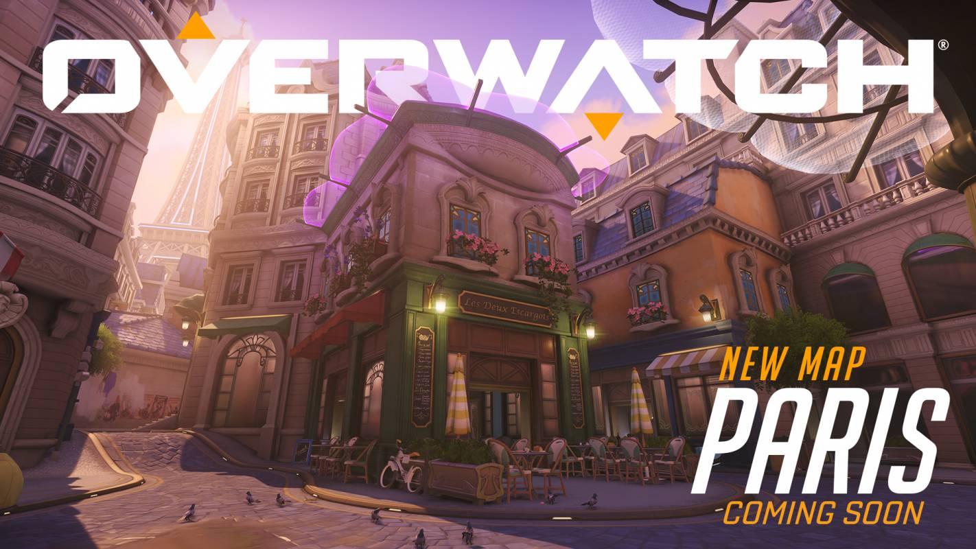 Mapa de Overwatch Paris entra em operação para jogadores de PC no programa PTR
