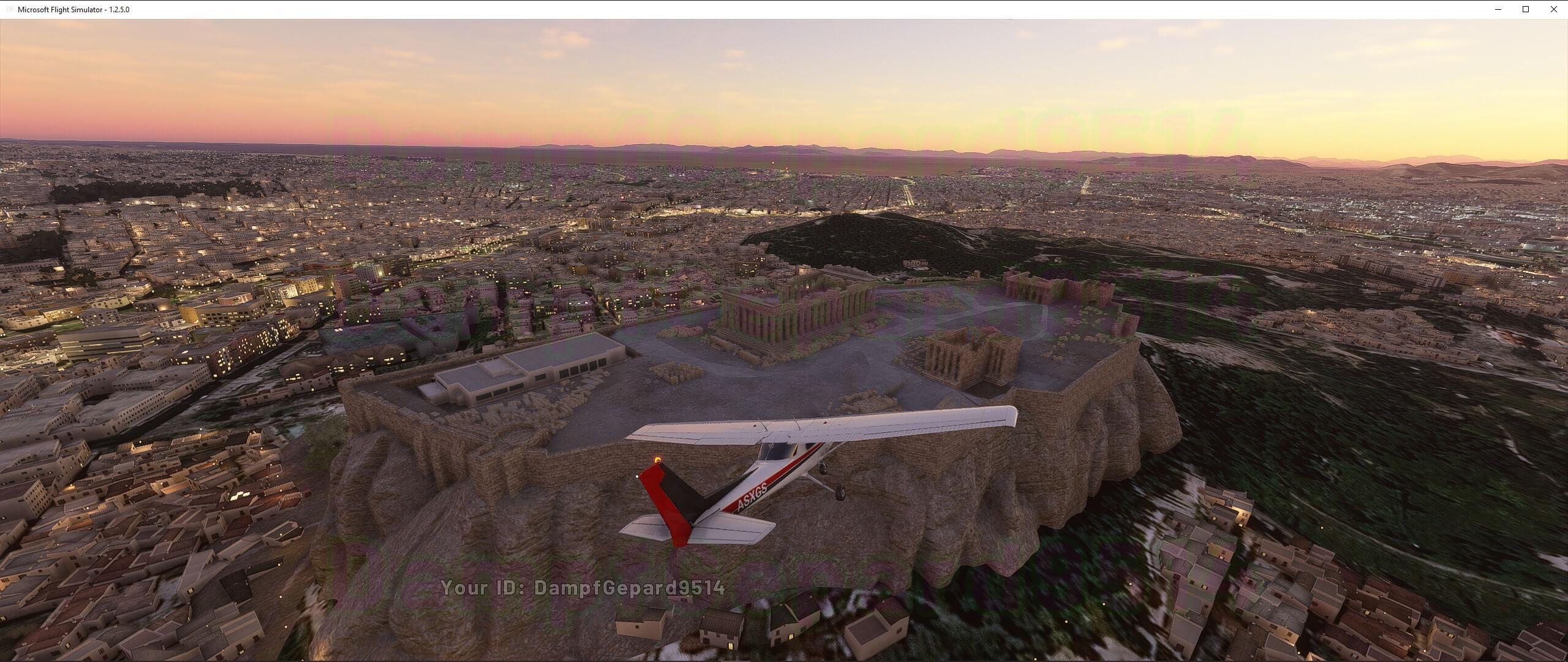 Microsoft lança novas capturas de tela bonitas para o Flight Simulator Alpha
