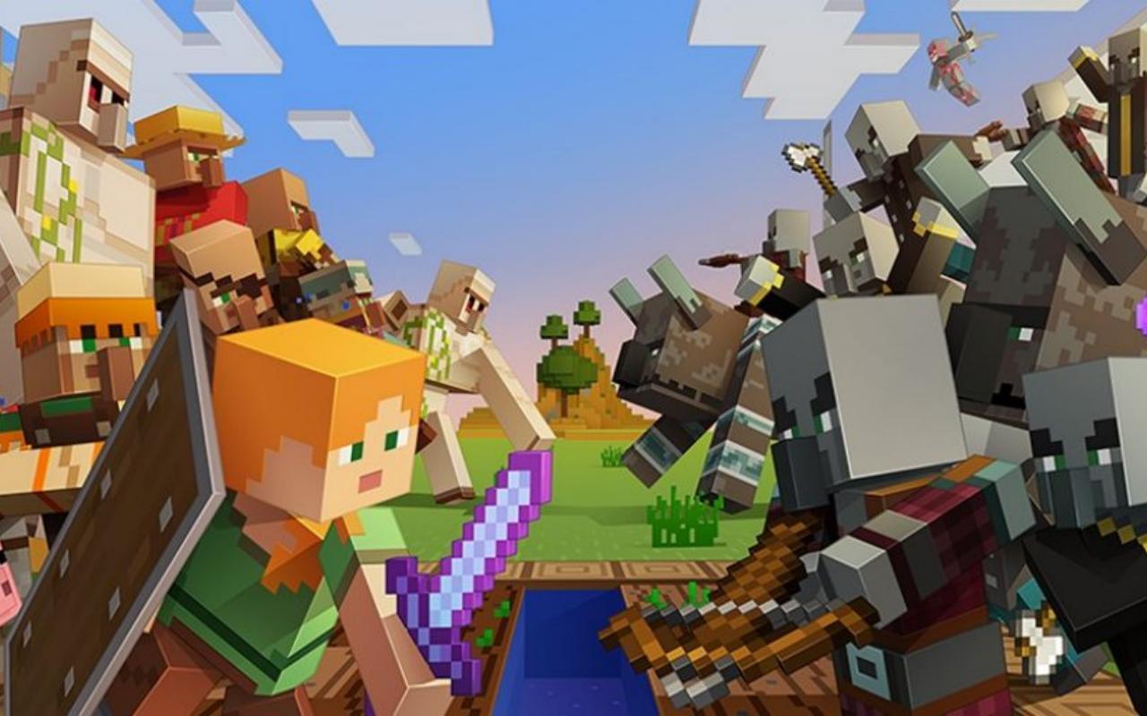 Minecraft Village e Pillage atualização tenta mostrar que ainda tem ...