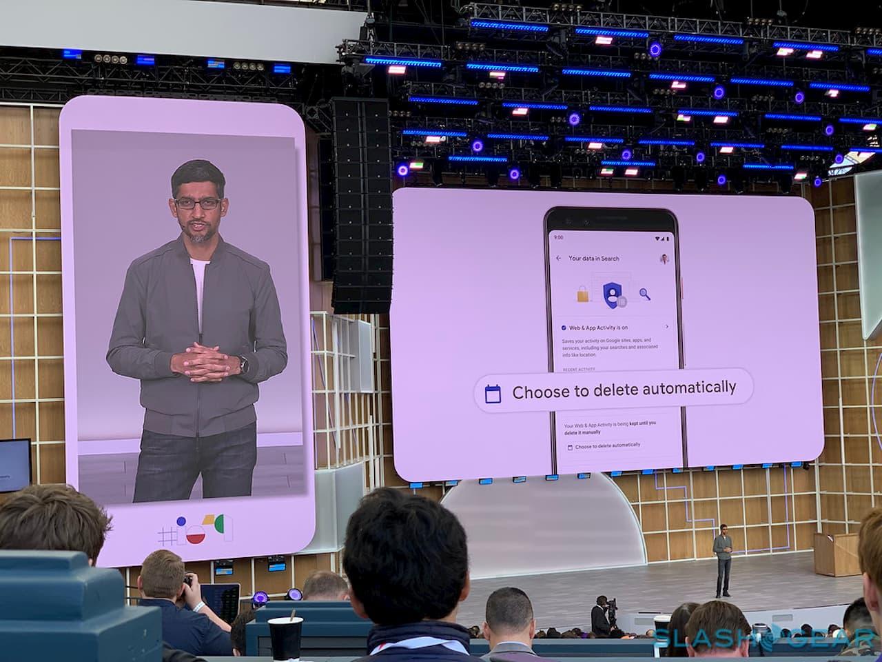 Modo de navegação anônima do Google Maps, exclusão automática de pesquisa e mais privacidade no Google