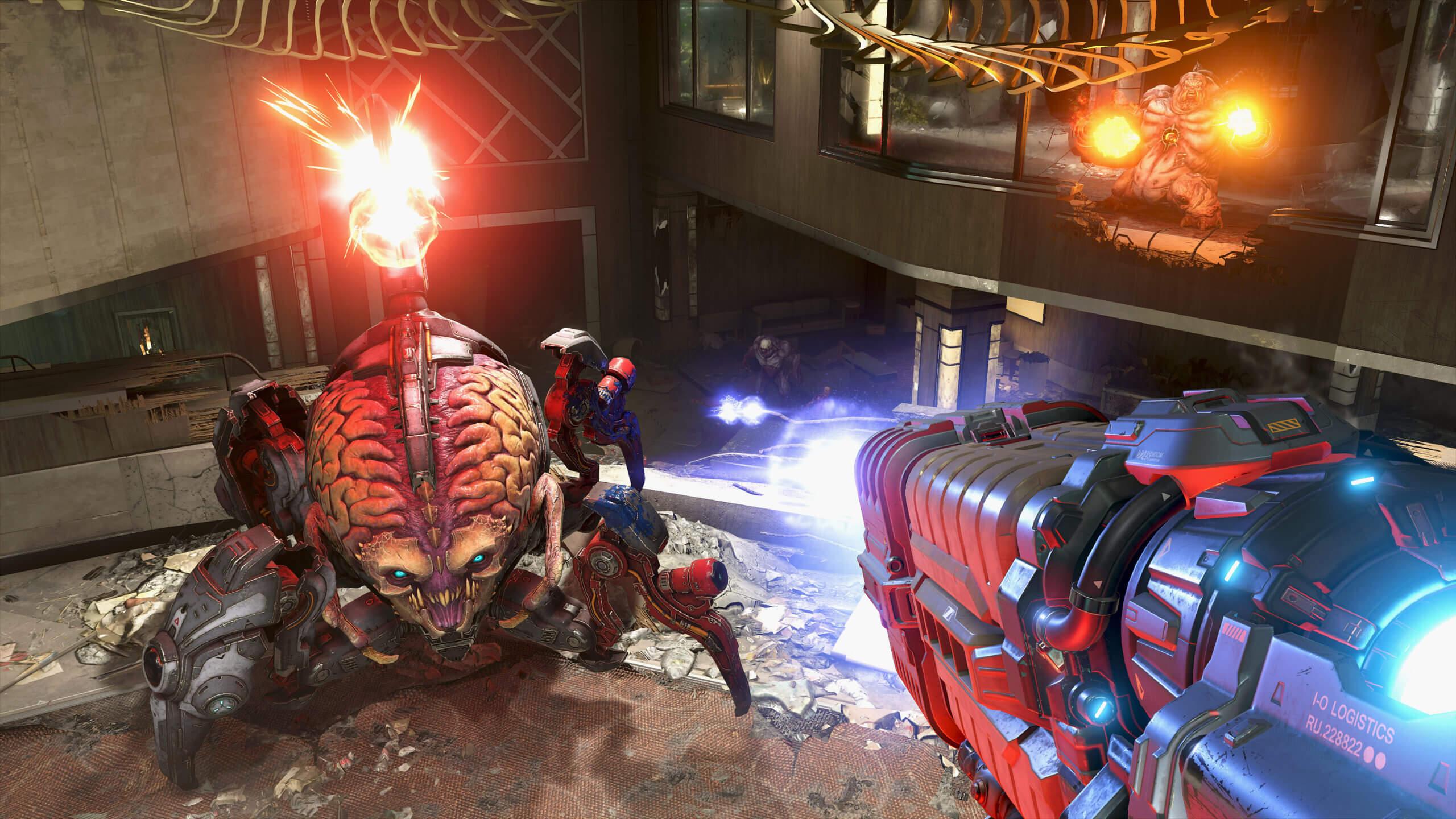 Não espere efeitos de rastreamento de raios em tempo real no Doom Eternal tão cedo