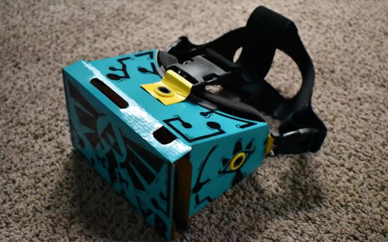 Nintendo Labo VR mod se prepara para atualização de Breath of the Wild