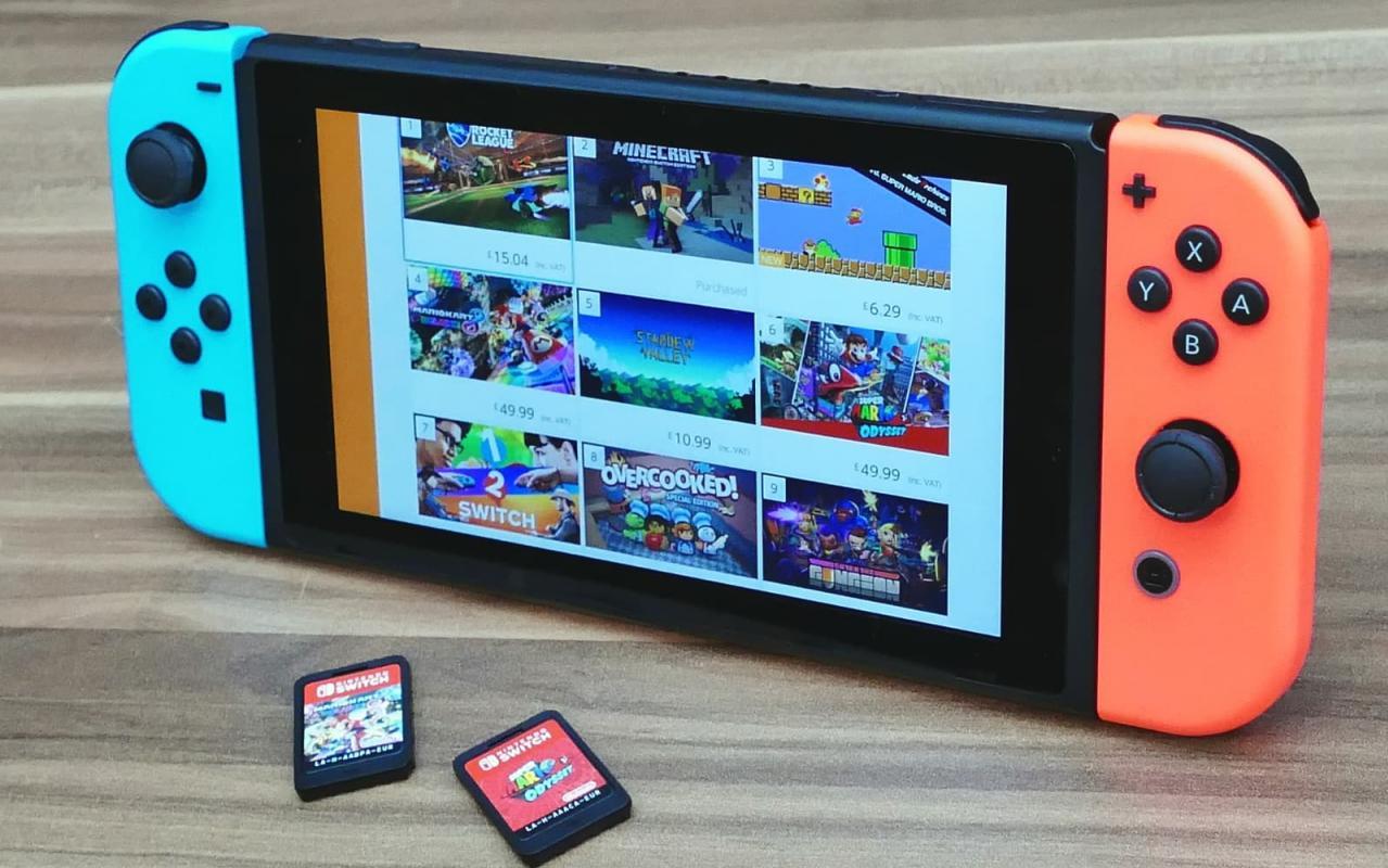Nintendo Switch 2 será versão menor e mais poderosa em espera