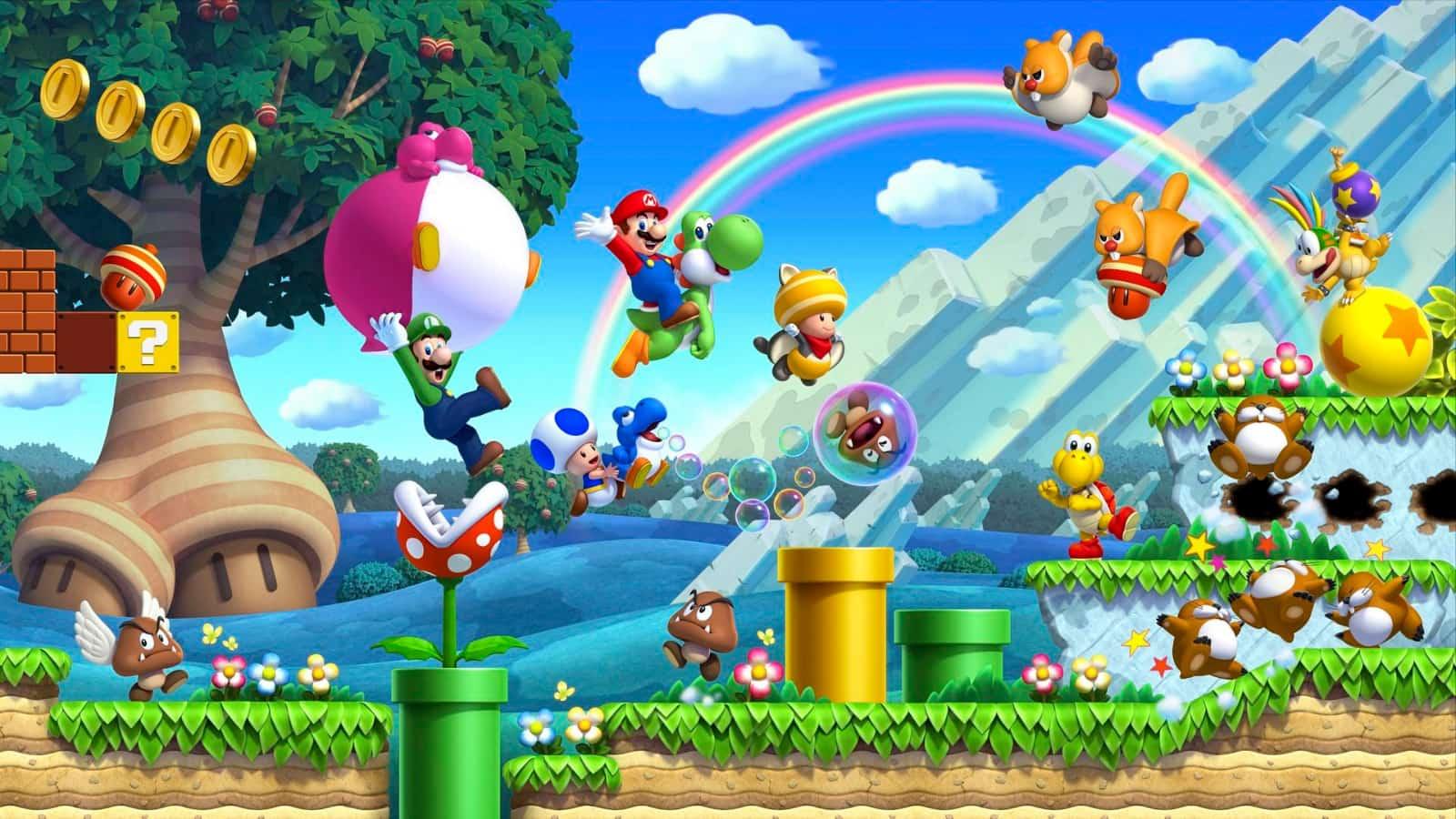Nova revisão de Super Mario Bros U Deluxe: a princesa sapo chega