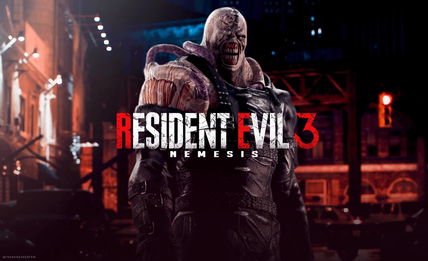 Novas capturas de tela para Resident Evil 3 Remake, Resident Evil 3: ...