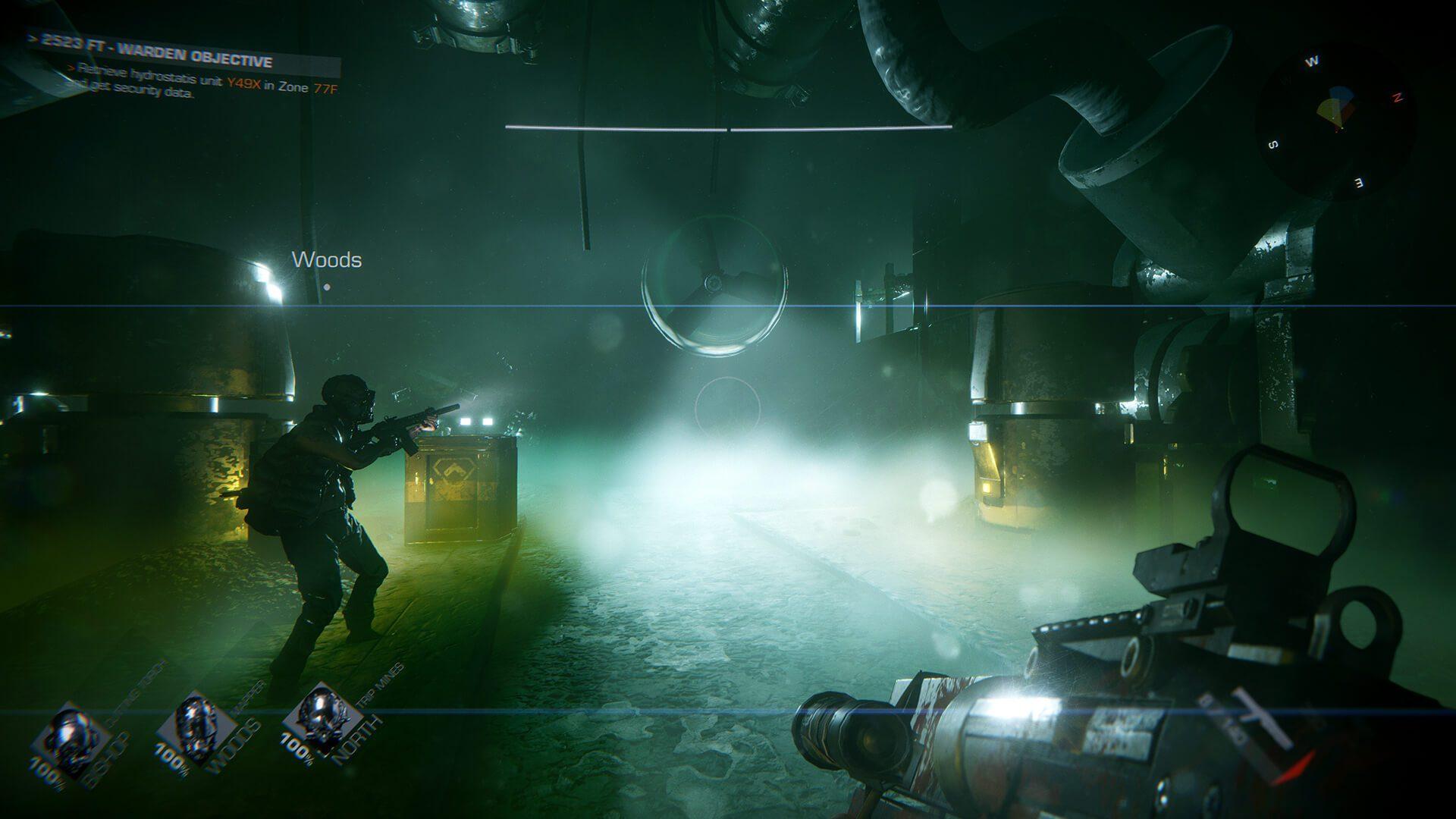Novas imagens de jogabilidade liberadas para o jogo de tiro em primeira pessoa PvE para quatro jogadores, GTFO