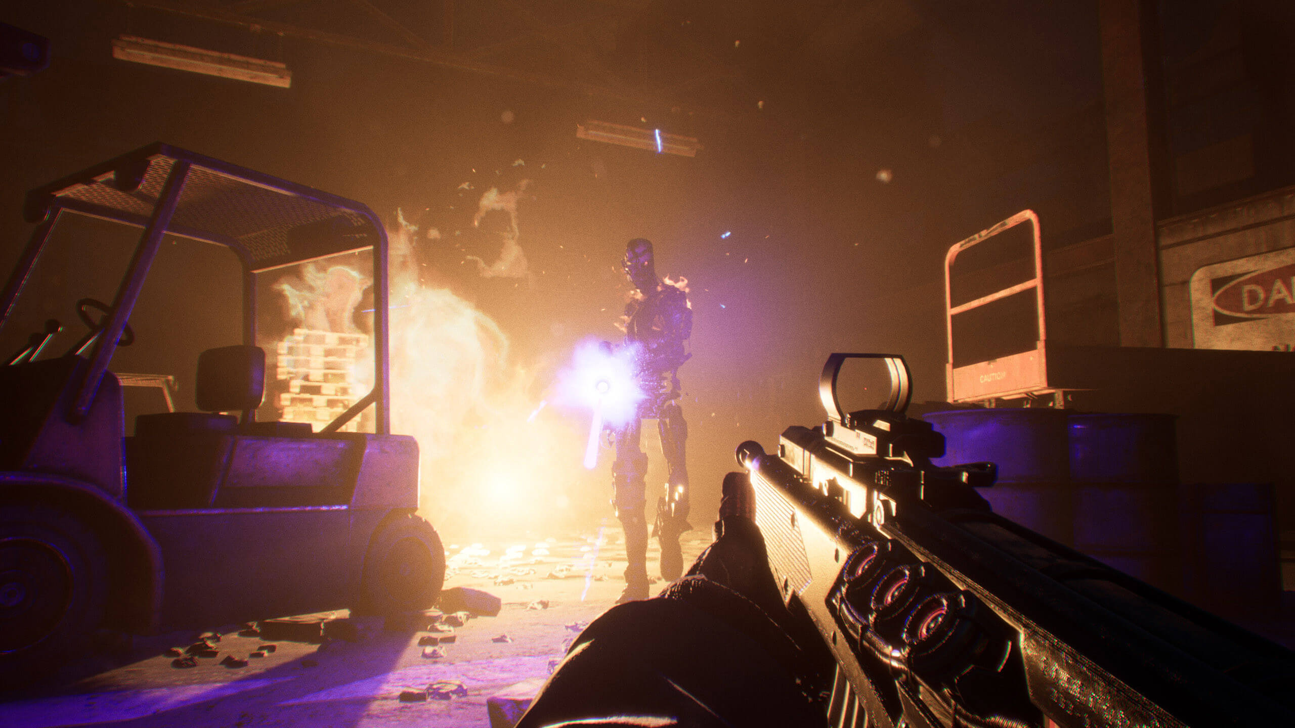 Novas superfícies de clipe de jogabilidade para Terminator Resistance
