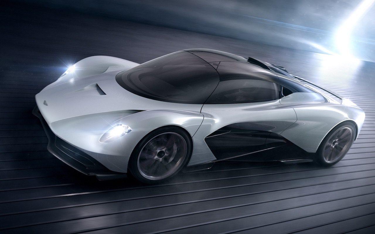 Aston Martin AM-RB 003 takes Valkyrie hybrid hypercar tech to the road