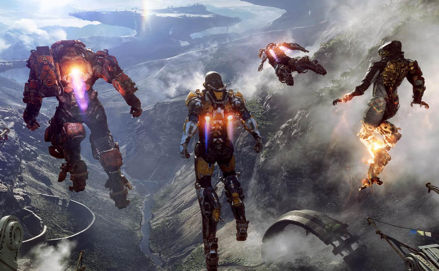 O BioWare atrasa os recursos do Anthem, pois funciona em correções