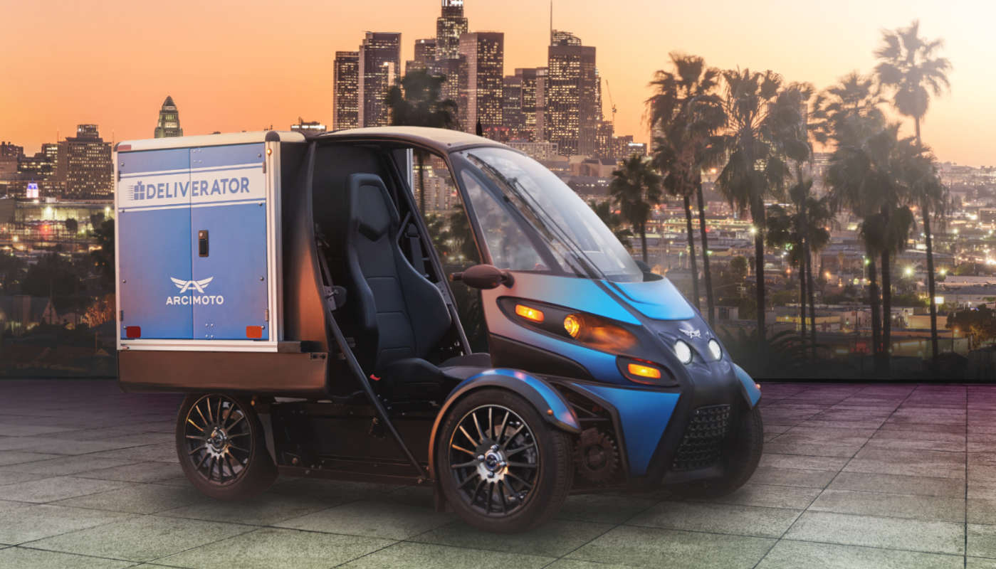 The Deliverator compact EV brings green deliveries to cramped cities