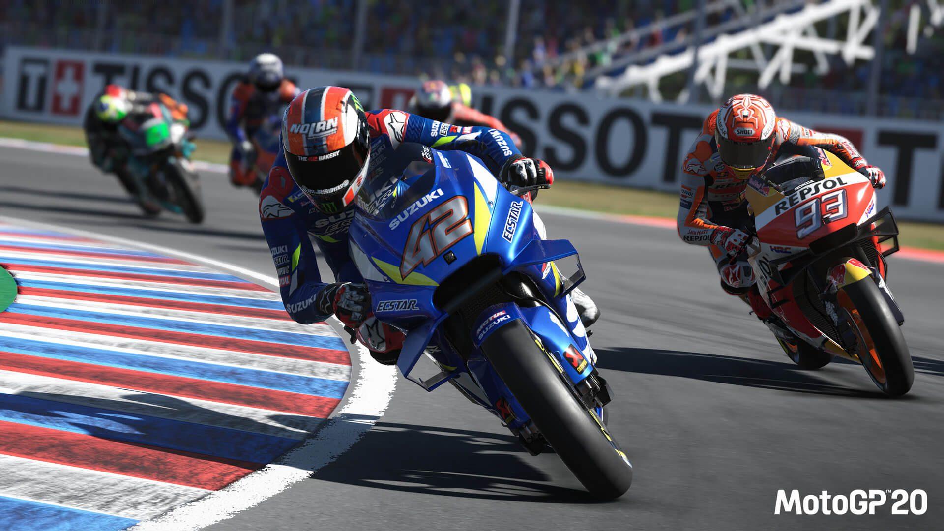 O MotoGP 20 está chegando ao PC em 23 de abril