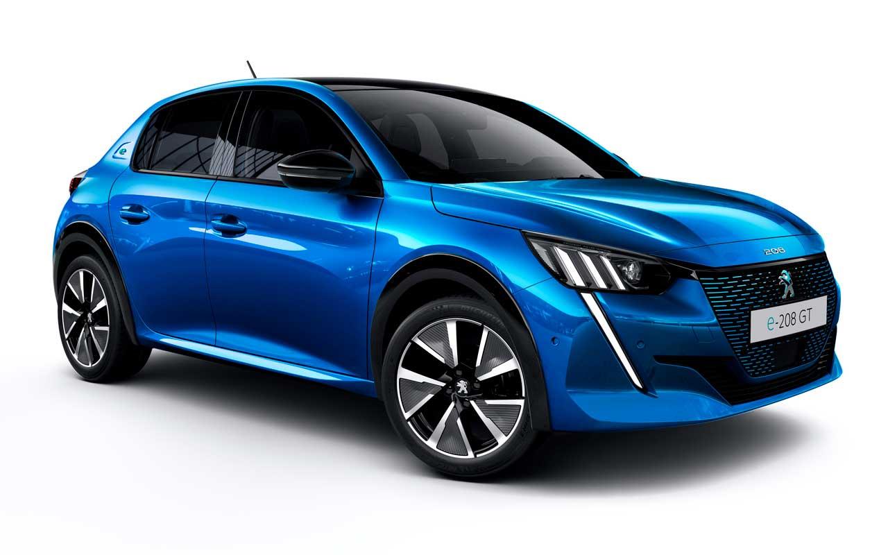Peugeot 208 comes in EV, gas, or diesel flavors