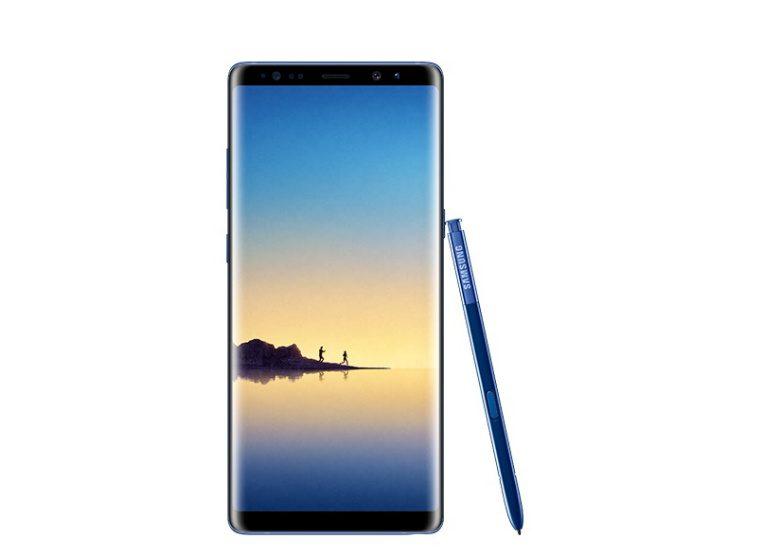 O Samsung Galaxy Note 8 super-sofisticado 'Deep Sea Blue' aparece em ...