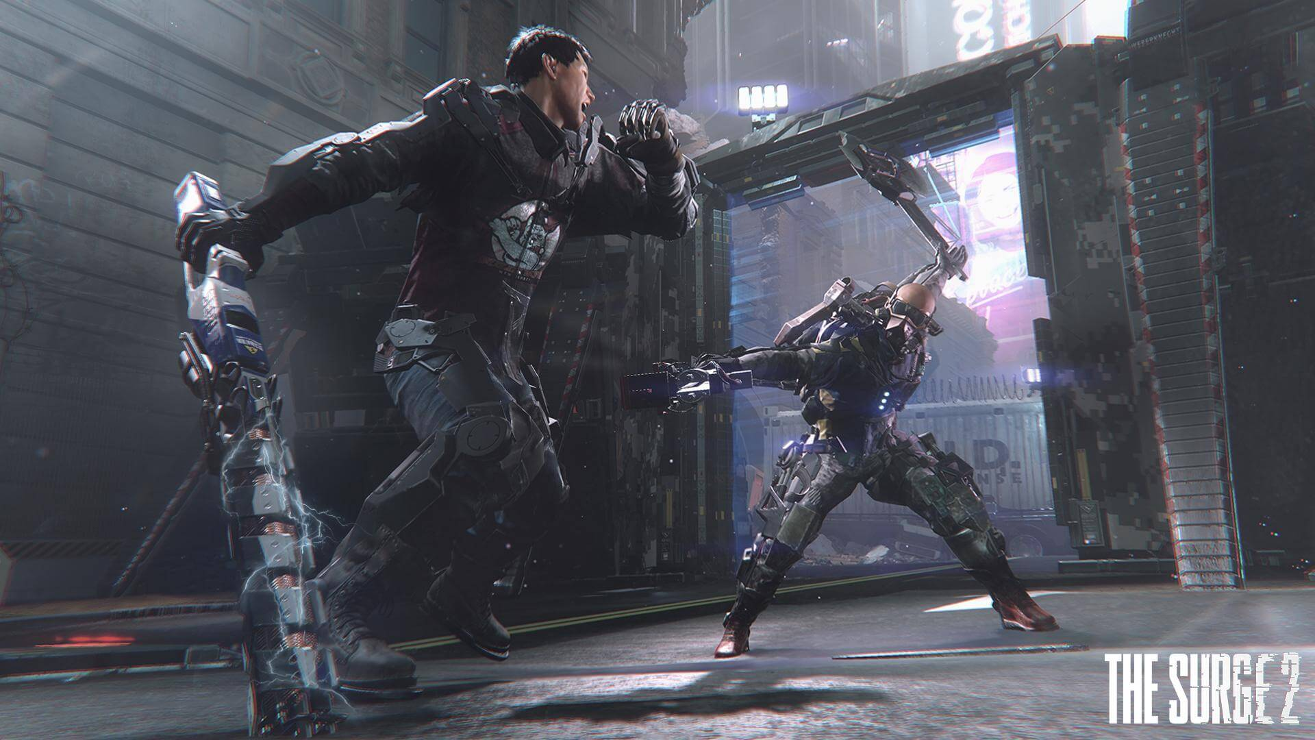 First The Surge 2 patch available for download, resolves stutters and rendering crashes
