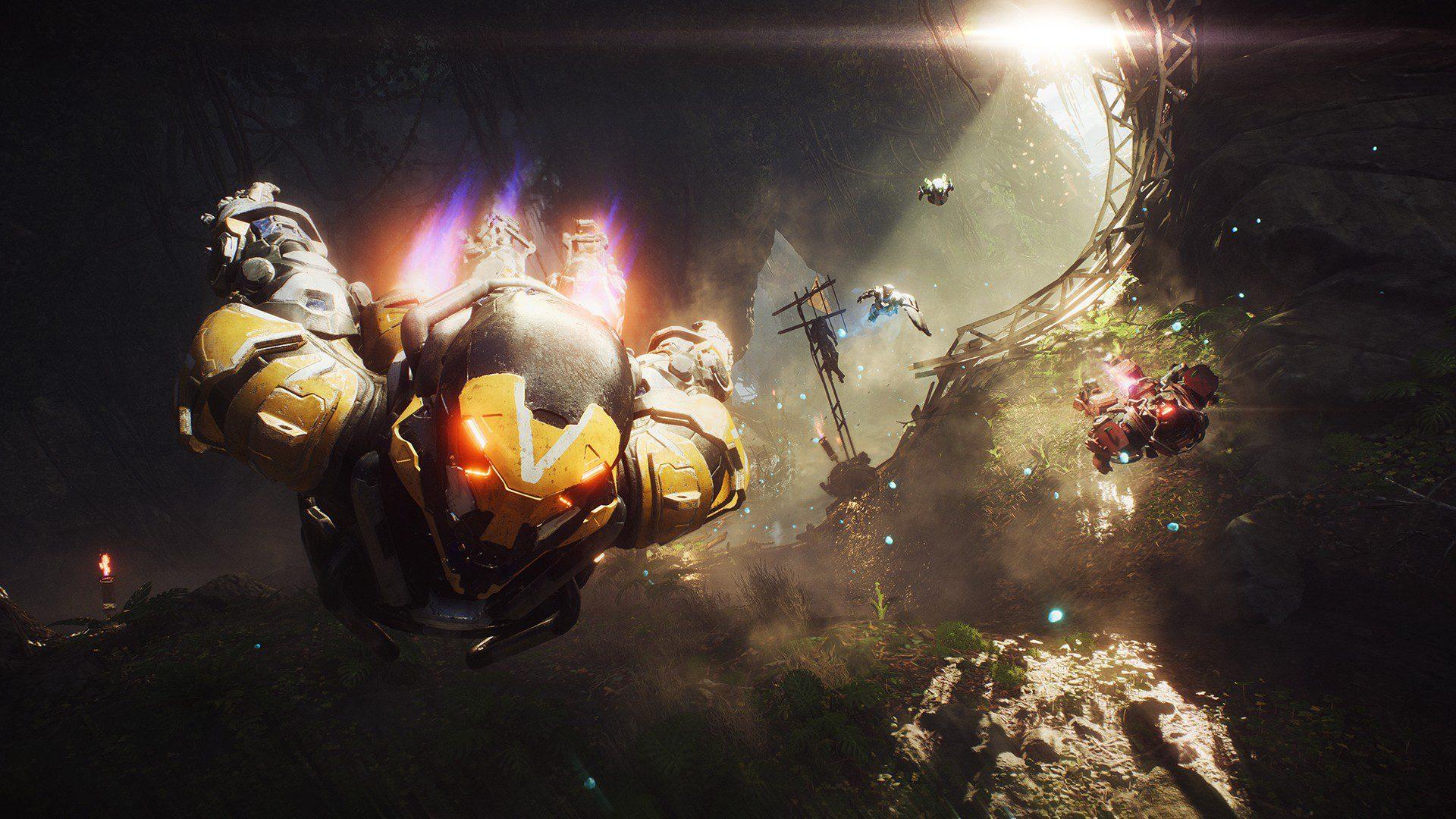 Anthem's nasty crashing bug has caught EA's attention