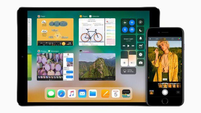 O iOS 11 no iPhone 8 significa que não há botão home, ...
