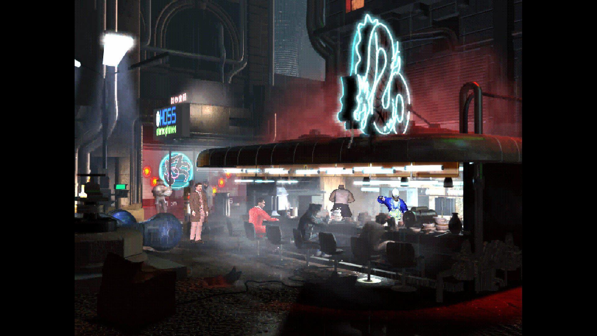 O jogo de aventura de apontar e clicar, Blade Runner, já está disponível no GOG