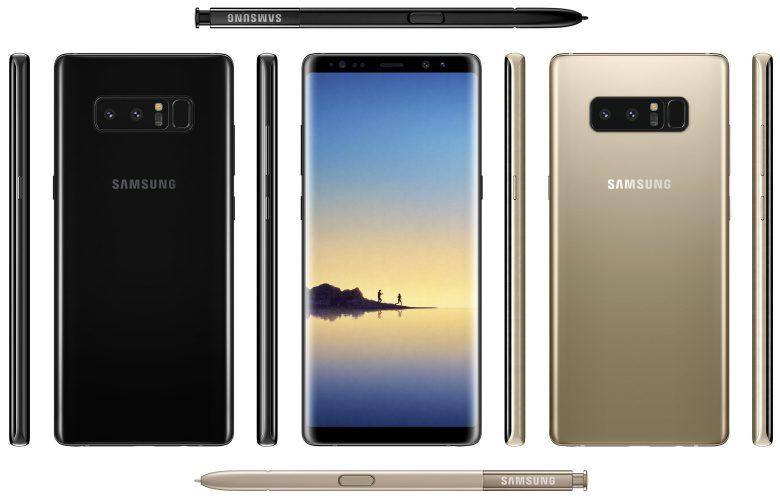 O mais recente recorde de benchmark do Samsung Galaxy Note 8 confirma ainda mais as especificações