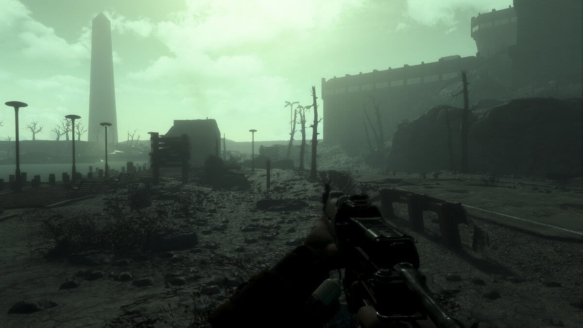 12 minutes of gameplay footage from Fallout 3 Remake in Fallout 4, Fallout 4: The Capital Wasteland