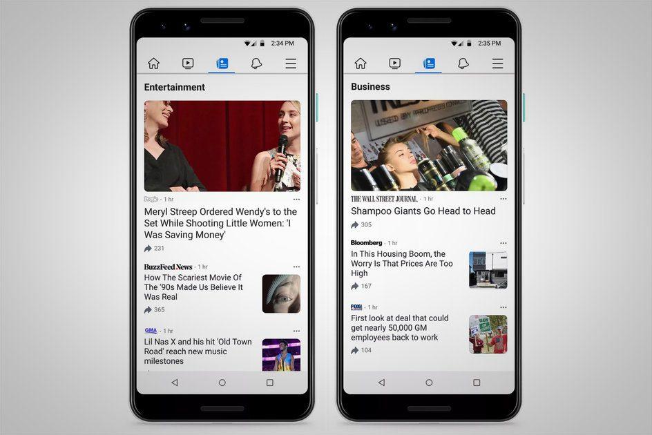 O que é o Facebook News, quais editores estão incluídos e como funciona?
