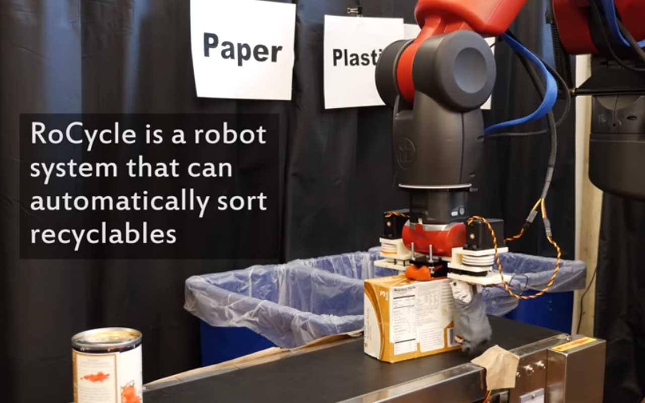 O robô de reciclagem do MIT classifica automaticamente o lixo