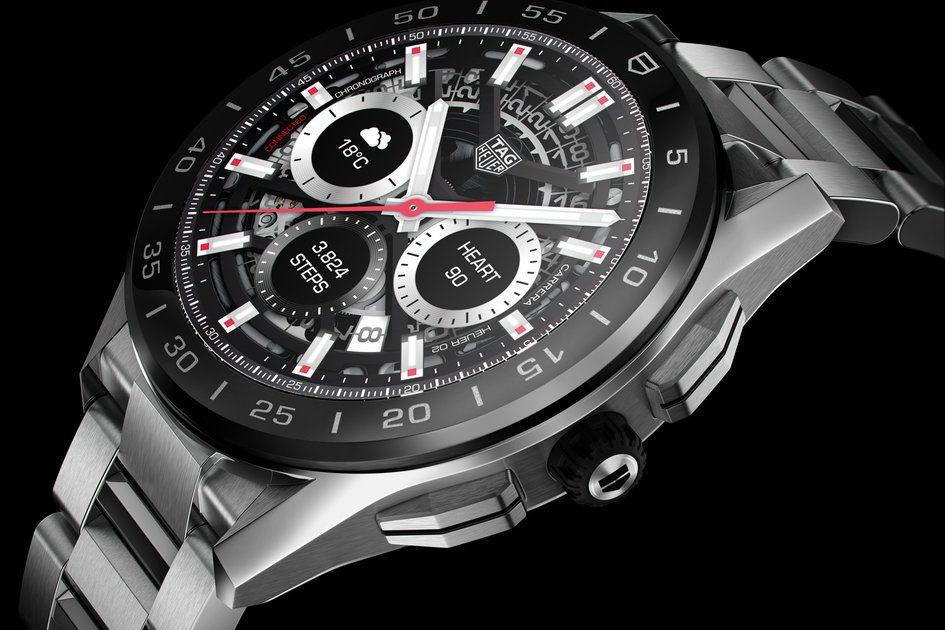O smartwatch Connected de terceira geração de Tag Heuer foca no esporte