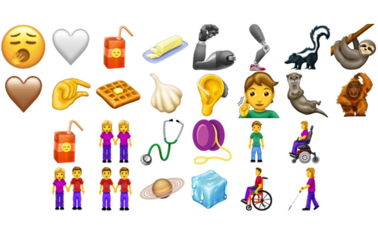 Os novos Emojis de 2019 visam a inclusão (e waffles)