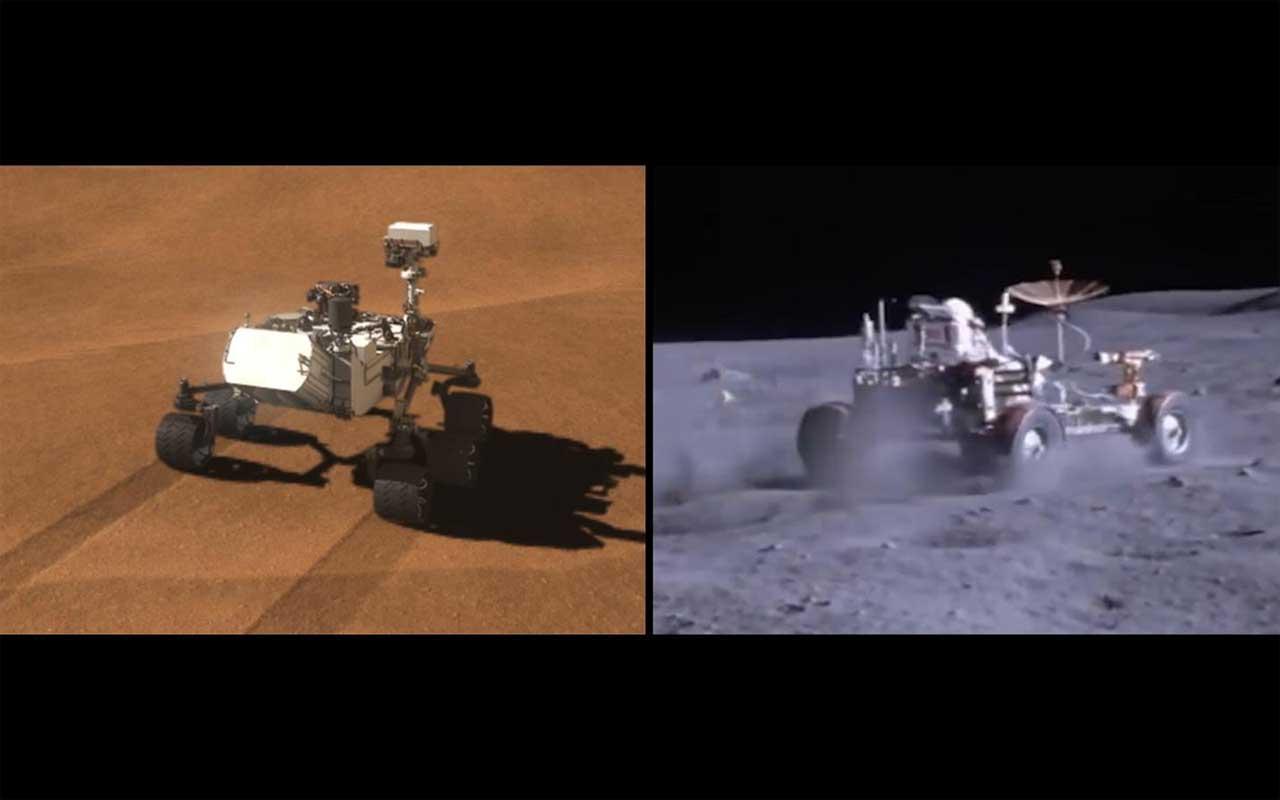 Os sensores rover Curiosity da NASA são reaproveitados para medir a gravidade de Marte