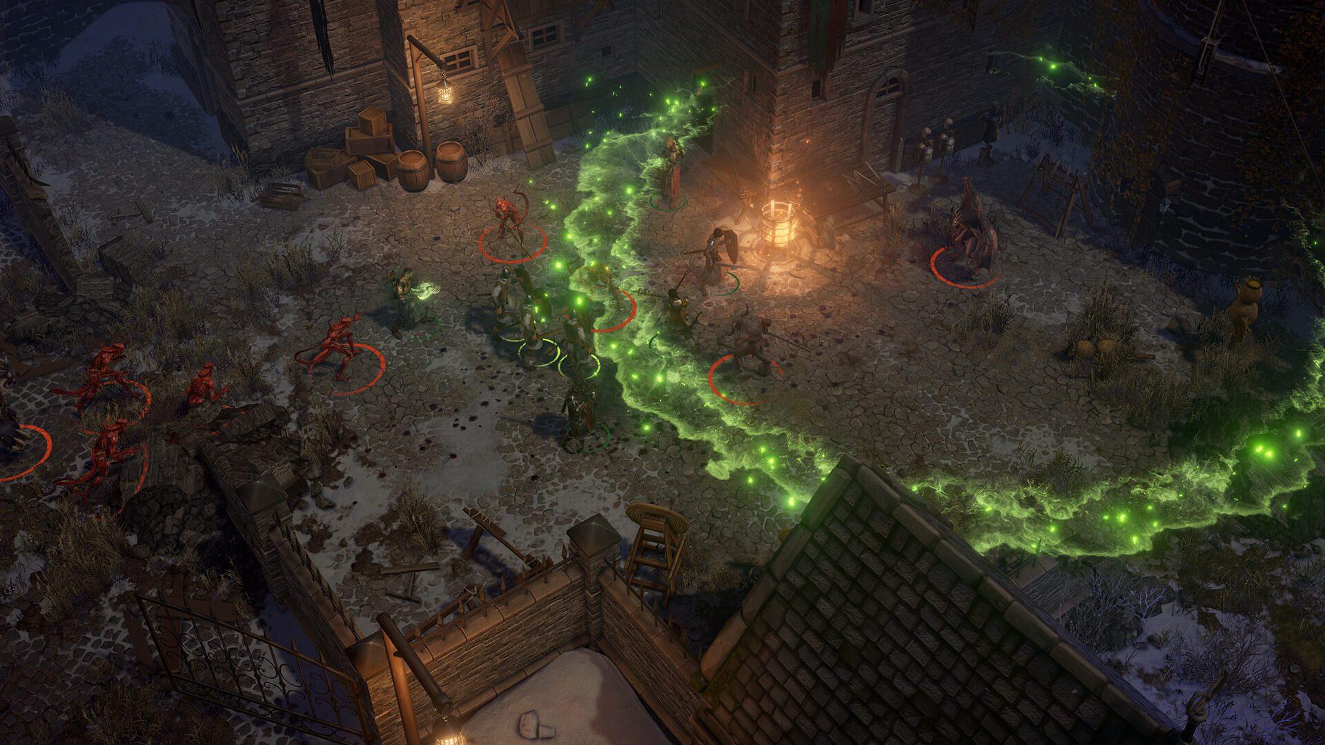 Primeiras capturas de tela lançadas para o próximo CRPG isométrico clássico, Pathfinder: Wrath ...