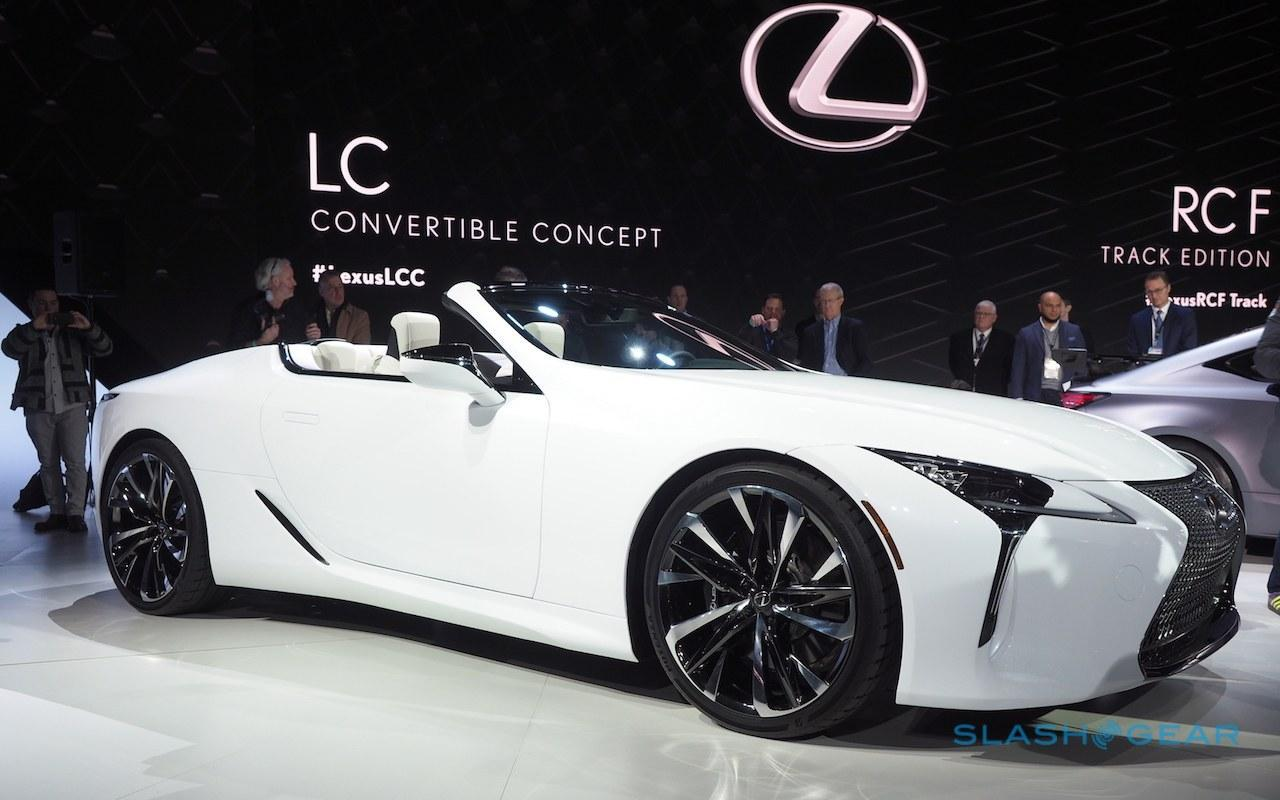 Primeiro olhar do Lexus LC Convertible: duas perguntas e uma resposta