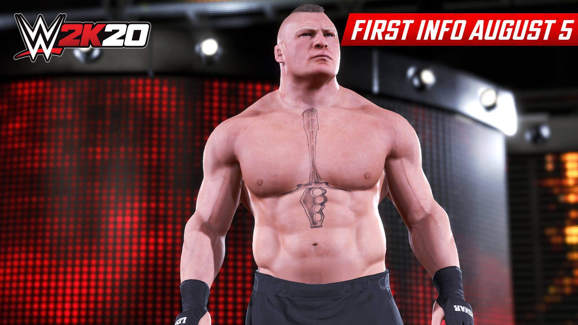 Primeiro patch do WWE 2K20 disponível para download;  aborda a jogabilidade, controles, gráficos, ...