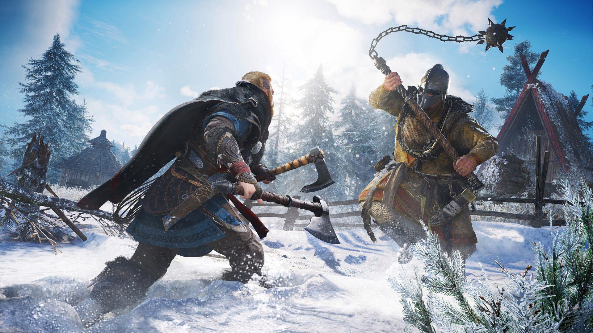 Primeiro, veja a jogabilidade de Assassin's Creed Valhalla, revelando ataques, combates e muito mais